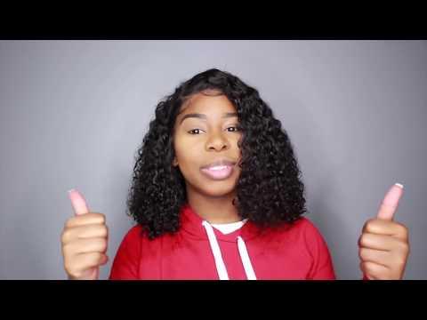 Detangling My Brazilian Curly| Unice Hair