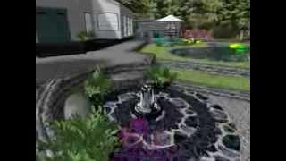 Nuostabi sodyba prie ežero. Apželdinimas, baseinas, pirtelė su terasa į ežerą, lauko židinys.