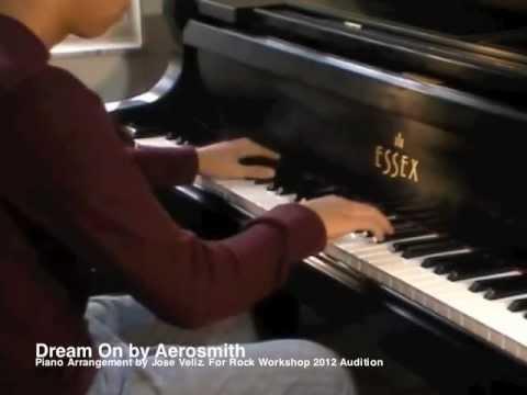 Dream On- Aerosmith Piano Solo Cover