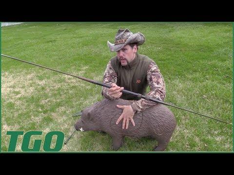TGO | Cold Steel Spear, Boar Hunt Prep