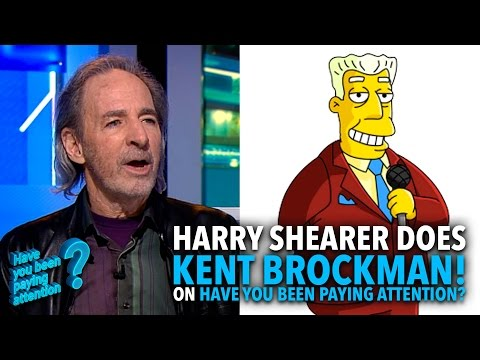 Harry Shearer does Kent Brockman! | #HYBPA