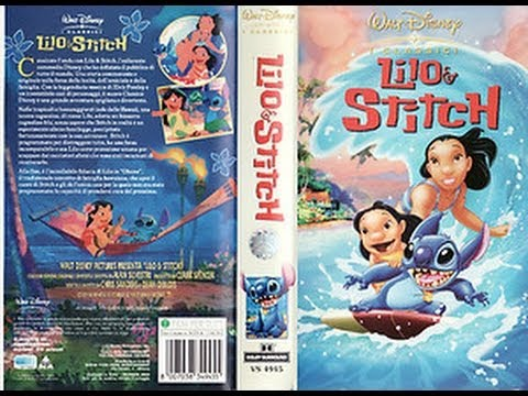 Promo Vhs Lilo Stitch 2002 Youtube