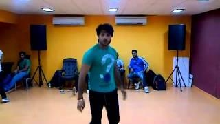 Ashish Dance practice