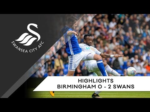 Swans TV - Highlights: Birmingham City 0-2 Swans