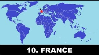 Top 10 Most Hated Countries Towards The Population Of United Kingdom