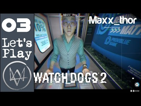 03 - Let's Play - WatchDogs 2 - Hacking ctOS ATMs - Walkthrough Story FULL GAME