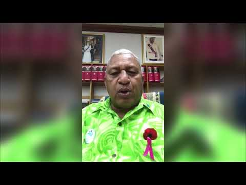 Message from the Fijian PM and COP23 President Frank Bainimarama to Germany