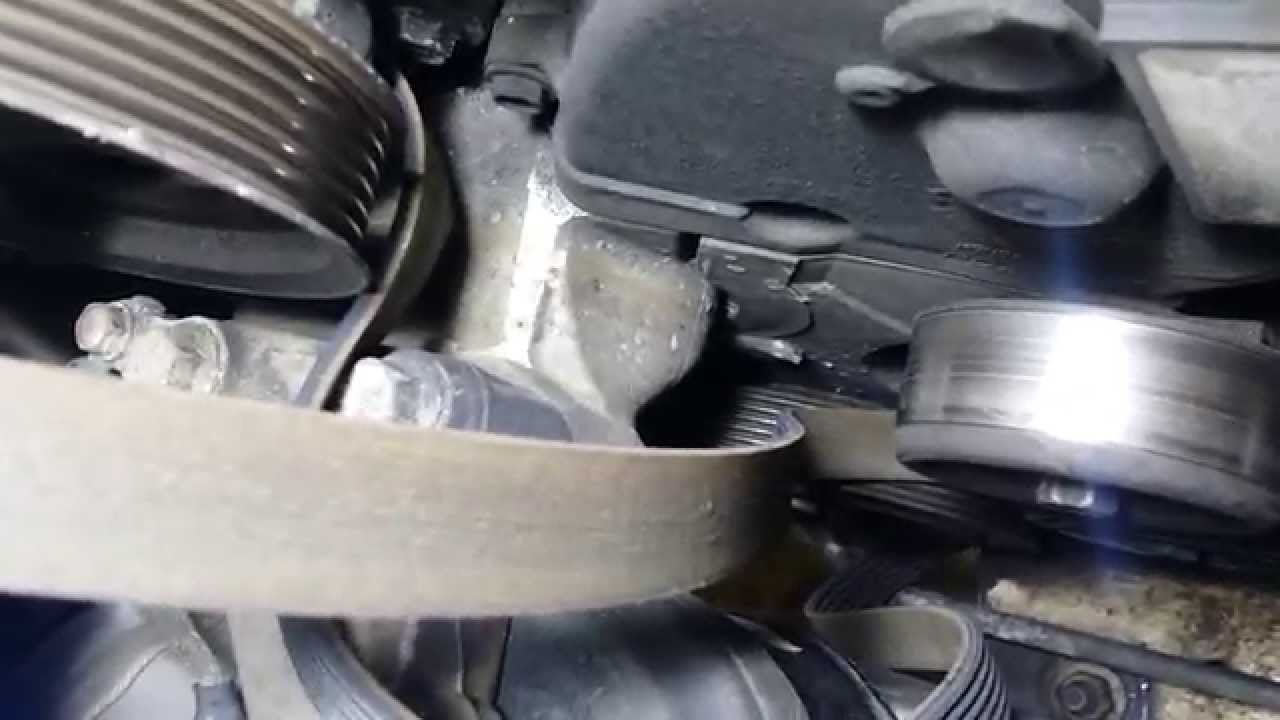 ACURA TL TIMING BELT AND CRANK SEAL REPLACEMENT PART 1