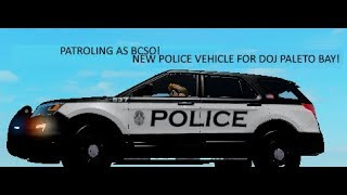 ROBLOX | Patroling as BCSO | DOJ Paleto Bay.