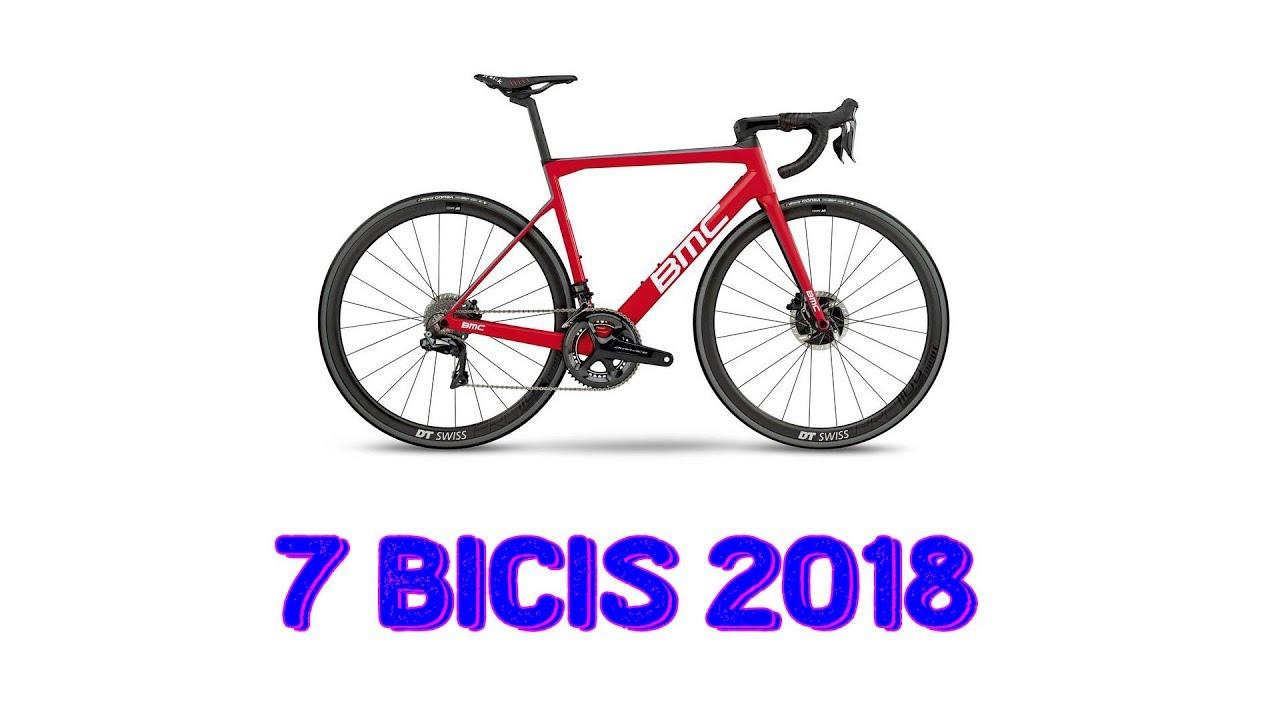 7 Bicicletas de Carretera Renovadas 2018 | Ciclismo - YouTube