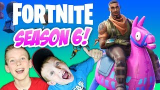 FORTNITE SEASON 6 BATTLE PASS! Family Friendly Gameplay