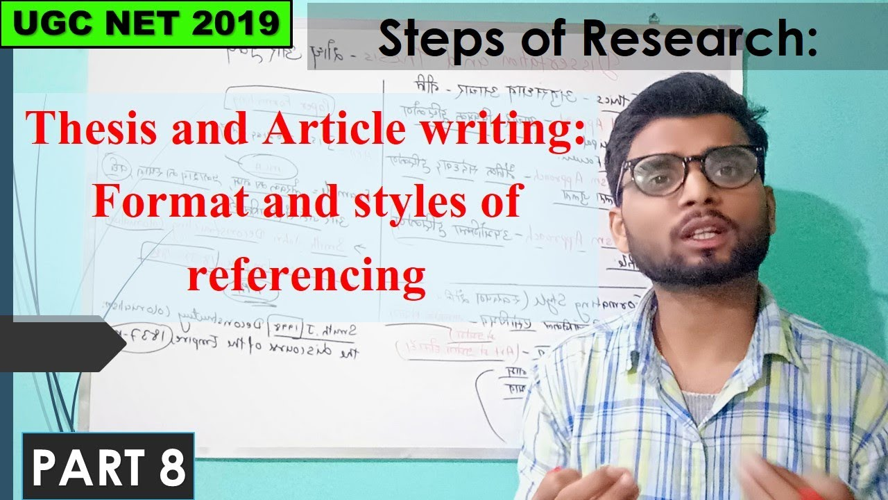 Article style dissertation