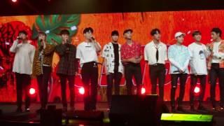 170804 Music Bank in Singapore start Singapura (BTS SHINee Red Velvet MAMAMOO CNBLUE)