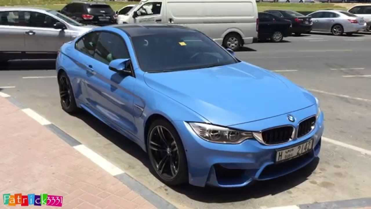 Smurf Blue Bmw M4 F82 Youtube