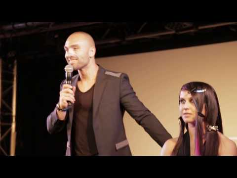 COUPE DE CHEVEUX FRANGE ET TRESSES REDKEN WORK SHOW PARIS