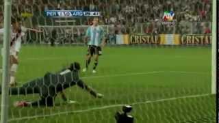 PERU VS ARGENTINA 11 09 2012 primer tiempo hd