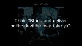 Metallica - Whiskey In The Jar Lyrics (HD)