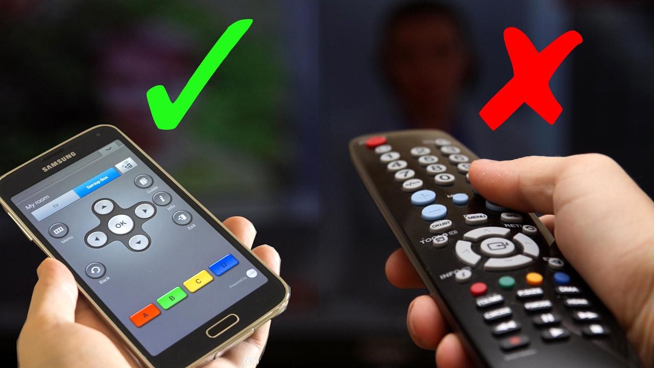 طريقة جعل هاتفك ريموت كنترول للتحكم بالتلفاز Tv Youtube