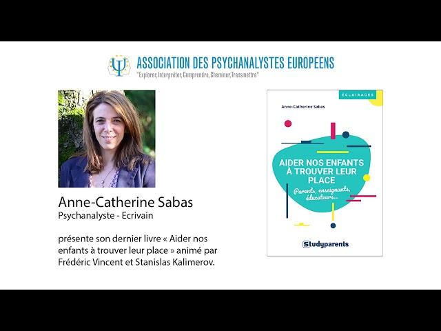 Séminaire APE mars 2020 avec Anne-Catherine Sabas