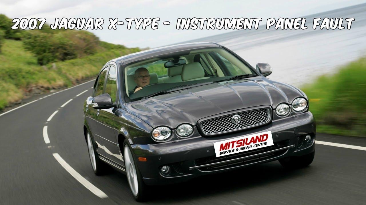 How To Test Jaguar X-Type - Instrument Panel possible Fault Jaguar X Type Sel Fuse Box on