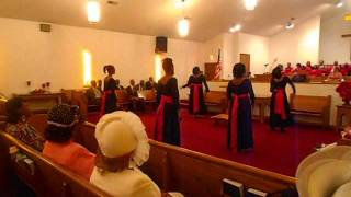 The Night That Christ Was Born Praise Dance (Kirk Franklin)