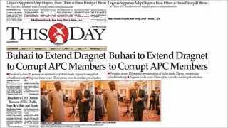 Nigerian Newspaper Headlines22nd July 2015- I am alive, hale, hearty -Detained Jonathan's former CSO