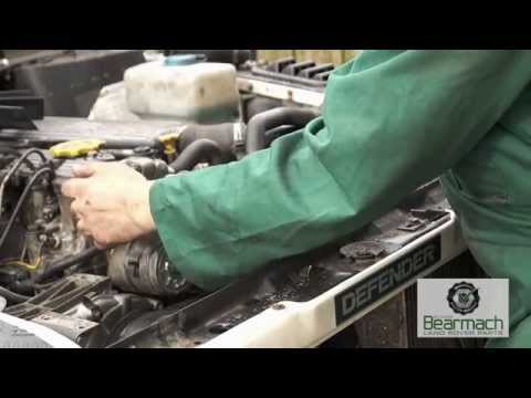 Changing The Cambelt On A Land Rover Discovery 300 Tdi