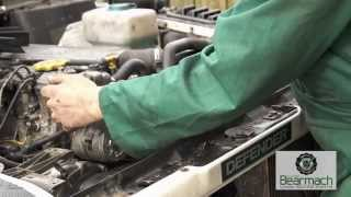 Replacing a radiator and reverse flushing engine  - The Fine Art of Land Rover Maintenance