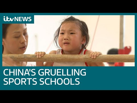 Inside China's gruelling sports schools | ITV News