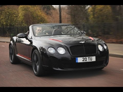 new bentley continental supersports convertible 2017 youtube. Black Bedroom Furniture Sets. Home Design Ideas