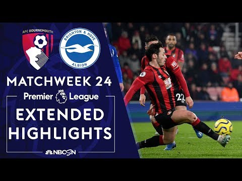 Bournemouth v. Brighton | PREMIER LEAGUE HIGHLIGHTS | 1/21/2020 | NBC Sports