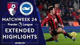 Bournemouth v Brighton  PREMIER LEAGUE HIGHLIGHTS  1212020  NBC Sports