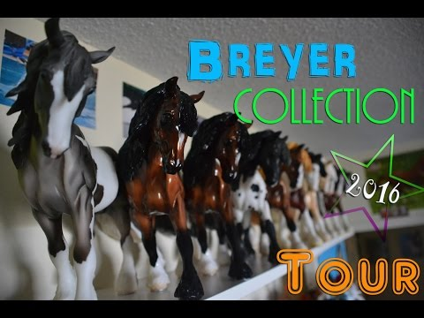 Breyer Horse and Peter Stone Room Collection Tour ( 241 models )