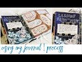 Junk Journal With Me - Ep 19   Journaling Process Video