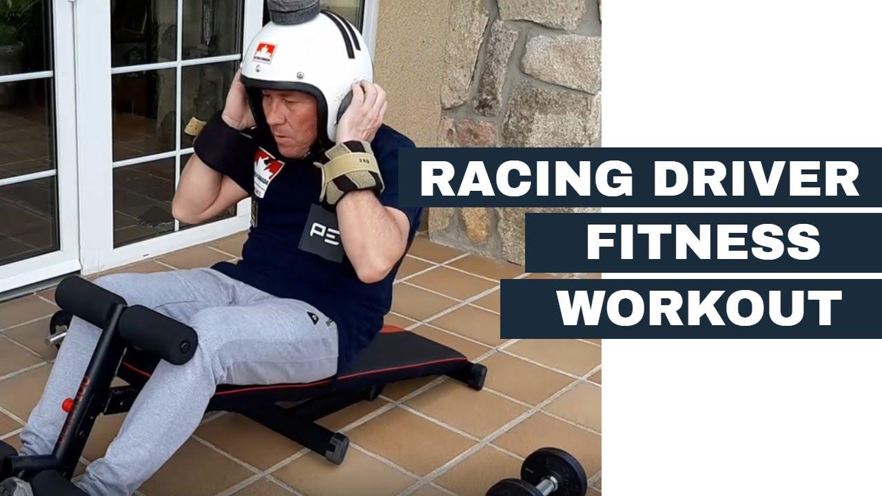 Racing Driver Workout