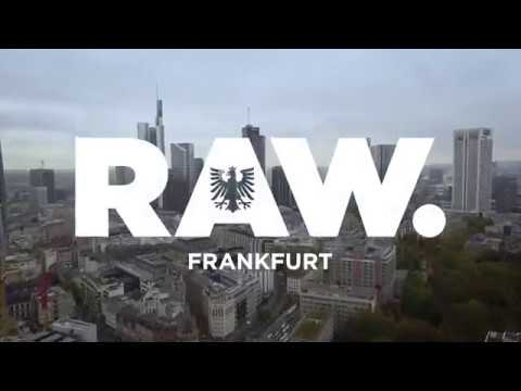 G-Star RAW Flagship Store Frankfurt Opening Teaser