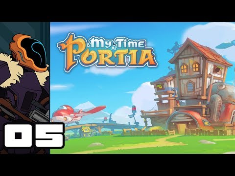 Let's Play My Time At Portia [Alpha 3.72] - PC Gameplay Part 5 - Rush Job