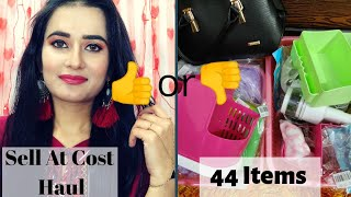 Sell At Cost Haul | 44 Products | Worth or Not🤔| Mister Bagga | SWATI BHAMBRA