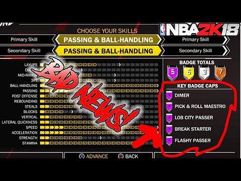 NBA 2K18 BAD NEWS FOR SMALL FORWARD DUAL ARCHETYPES!!!