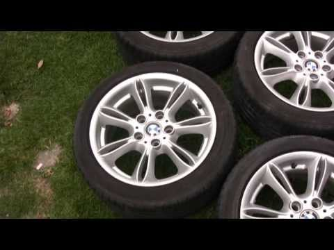 2003 2008 Bmw Z4 Oem Wheels And Potenza Tires Youtube