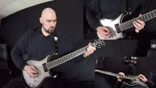 In Flames - Satellites and Astronauts guitar cover