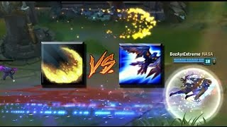 QUINN VS EZREAL ULT (Race#1)