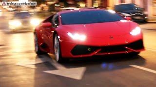 New Lamborghini Huracán LP610-4 - Acceleration and Exhaust Sound in Curitiba