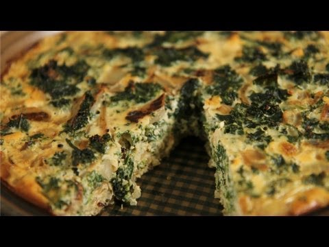 EAT | Kale & Quinoa Crustless Quiche: Healthy Recipe