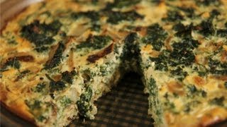 Kale & Quinoa Crustless Quiche: Healthy Recipe