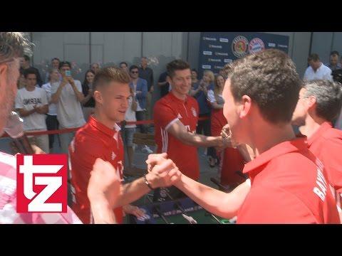 FC Bayern unterliegt Südtirol beim Paulaner Kick