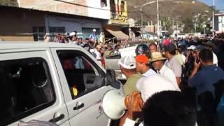 Reporteros agredidos por Gente de Quechultenango 2