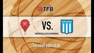 Mesopotamia: Huracán de San Justo vs. Racing Club de Avellaneda   #TFB