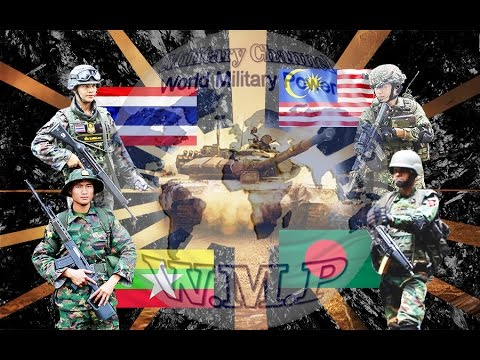 Myanmar & Thailand & Bangladesh & Malaysia Military Power Comparison 2016 - 2017
