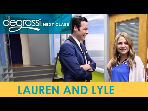 Degrassi Reunion: Lauren and Lyle